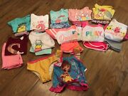 Nwt Toddler Girls Size 2t Huge 22 Pc. Clothing Lotspring/summerdisney And More