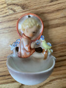 Hummel Child With Bird Holy Water Font 22/0