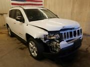 2011-2017 Jeep Compass Left Front Driver Door White Electric Window 665501