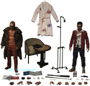 New Blitzway Fight Club Tyler Brad Pitt Set Of 2 1/6 Scale Action Figure Instock