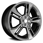 New 19 X 8 Hyper Grey Replacement Wheel Rim For 2017 - 2021 Ford Fusion