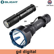 Olight Warrior X Turbo Magnetic Rechargeable Tactical Flashlight / I3e Edc Torch