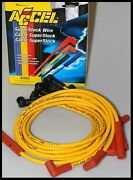 Accel Spark Plug Wires Fits Ford Point Style Distributors V-8 60 Off 4046