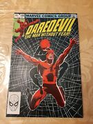 Marvel Comics Daredevil The Man Without Fear No.188 1982