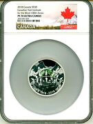 2018 Canada S30 Canadian Natl Institute For The Blind Ngc Pf70 Uc Ogp Ngc Pop 1