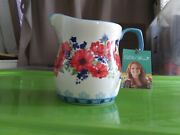 Pioneer Woman Flea Market 4 Cup Measuring Pitcher With Tag.