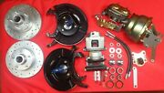 1954 1955 1956 Ford Full Size Front Power Disc Brake Conversion Granada Spindle