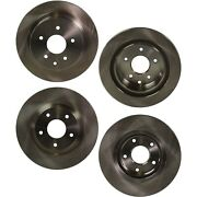 Disc Brake Rotor For 2008-2017 Nissan Rogue Front And Rear Solid 4-wheel Set