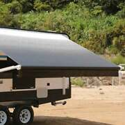 Aleko Retractable 13and039x8and039 Motorized Rv Or Home Patio Canopy