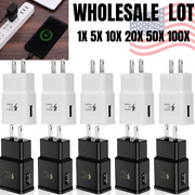 Wholesale Bulk Oem Adaptive Fast Usb Wall Charger Lot Power Adapter For Samsung