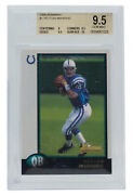 Peyton Manning 1998 Bowman 1 Indianapolis Colts Rookie Card Bgs Gm Mt 9.5