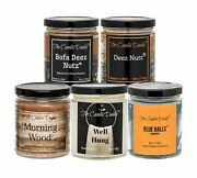 Daddyand039s Greatest Hits Vol. 1 Combo Set Of Five Of Our Favorite Scented 6oz Jar