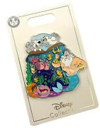 Disney Parks Little Mermaid Family Cluster Trading Pin King Triton Scuttle New