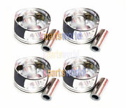 Genuine Piston And Pin And Snap Ring Assy 234102f900 X 4pieces For Tucsan 10-14