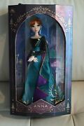 Nib Disney Store 17 Limited Edition Frozen 2 Queen Anna Doll Never Unboxed