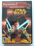 Complete Lego Star Wars The Video Game Ep I Ii Iii - Sony Playstation 2 Ps2 2005