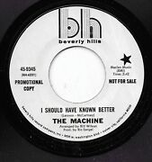 The Machine 45rpm '69 Beverly Hills I Should Have Known Better Beatles Cover M-