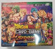 Dragon Ball Super Assault Of The Saiyans Booster Box Factory Sealed