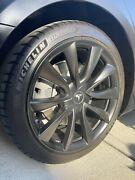 Tesla Model 3 19 Inch Wheel And Tire Set Michelin Ps4