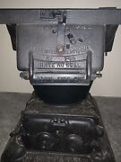 Antique Caboose Railroad Wood And Coal Stove From Estate 249 From 1912