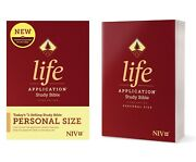 Niv Life Application Study Bible By Tyndale, Personal Size, Third Edition 2020