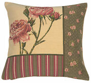 Bagatelle Floral French Tapestry Cushion Pillow Covers Home Decor New 18x18 Inch