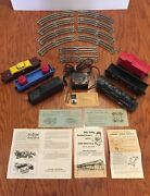 Vintage Lionel 246 Train Set-10 Tracks And 5 Cars And Steam Engine, 1959 Box