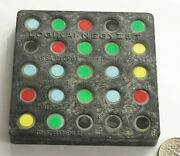 Rare,vintage Hungarian Brain Teaser Puzzle Toy.logical Square,by Kassa György