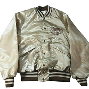 King Louie Pro Fit Vtg Sheddand039s Spread Country Crock Satin Gold Colored Jacket M