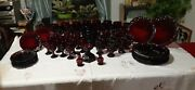 Ruby Red Cape Cod Avon Glass Collection