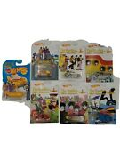 New The Beatles Hot Wheels Bundle Of 7 Cars New On Card