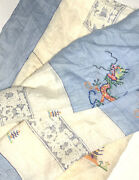 Antique Chinese Embroidered Textile Huge 80 X 60 Dragon Asian Collectors Vintage