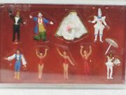 Ho Scale Painted Circus Figures 20254red Figurines