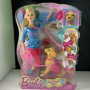Brand New Barbie Potty Training Taffy Doll And Pet Dog 74677530238 In Box Girl Toy