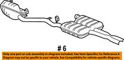 Dodge Chrysler Oem Challenger Exhaust System-muffler And Pipe Assembly 68058774ad