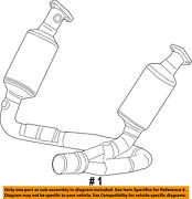Chrysler Oem-exhaust System-catalytic Converter And Pipe 52855898ad