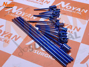 Polyaxial Screw 5.0mm Spine System Pedicle Screw And Rod 8 Pcs Spine Orthopedic