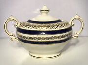 Vintage Mid Century Crown Ducal Ware Duchess Sugar Bowl Made In England