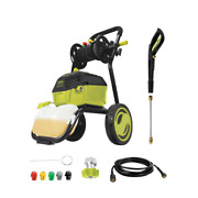 Electric Power Washer 3000 Psi Max 1.30 Gpm 14.5 Amp High Pressure Car Washer