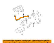Chevrolet Gm Oem 2006 Avalanche 2500 8.1l-v8 Exhaust-front Pipe Right 15793200