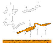 Gm Oem-exhaust System-muffler Tail Pipe 25929098