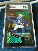 2018 Select Pat Mcafee 242 Green Prizm Ssp /5 Sgc 10 Gem Mint Wwe Nxt Colts