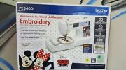 Brother Pe540d 4x4 Embroidery Machine With 70 Built-in Decorative Designs 35 Di