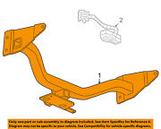 Gm Oem Trailer Hitch-rear Body And Floor-trailer Hitch 22957895