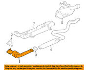 Gm Oem-exhaust System-catalytic Converter And Pipe 22970500