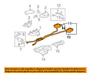 Cadillac Gm Oem 10-11 Cts 3.6l Exhaust System-muffler And Pipe Assembly 25973278