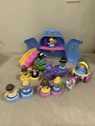 Fisher Price Little People Disney Princess Lot Tronescarriages9 Figures ++