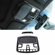 Carbon Fiber Front Reading Light Cover Trim For Lincoln Nautilus Mkx 2015-2021