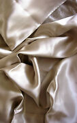 4 Pcs 100 Silk Charmeuse Sheet Set Queen Champagne Nib By Feeling Pampered