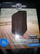 True Guard Stackable Patio Chairs Cover Fits Height Chairs Up To 27w X 30d X 4